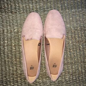 H&M Faux Suede Loafers 🎀